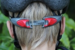 Occipital fastener of a bike helmet