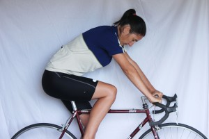 incorrect riding position